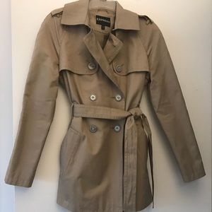 Express trench coat - worn once!
